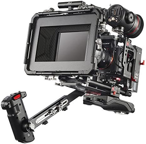 JTZ DP30 Camera Cage with Trust 15mm Baseplate RigTop Rail Handle Max 60% OFF Rod