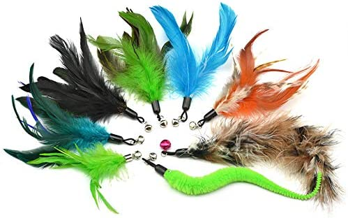 jkshop Max 81% OFF 8-Pack Challenge the lowest price Multi Piece Replacement Plu Feathers Pack Colorful