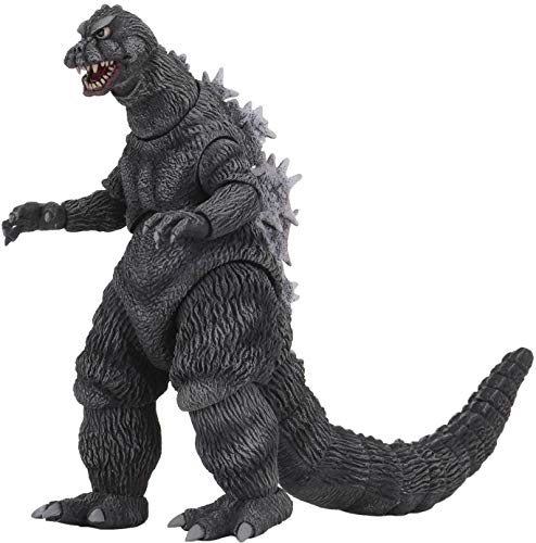 NECA Godzilla: Mothra vs Godzilla 1964 Godzilla Action Figure, Multi-Colored, 7' (302192)