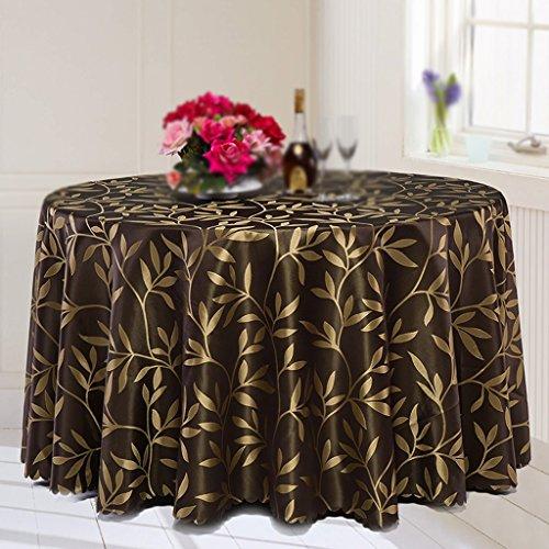 Max Home@ Nappe d'hôtel moderne simple Nappe d'hôtel Nappe d'une grande table ronde Table basse Banquet Nappe de table de mariage ( taille : 260cm )