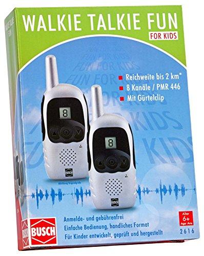 Busch 2616 - Walkie Talkie Fun, Verschiedene Spielwaren