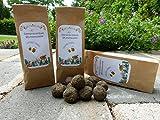 10x Samenbomben Bienen Seedbombs Wildblumen Seedballs Blumenwiese handgemacht in schöner Geschenktüte