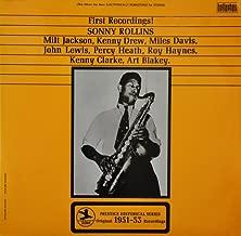 Sonny Rollins - First Recordings! - Prestige - BJS 4057, Bellaphon Records - BJS 4057