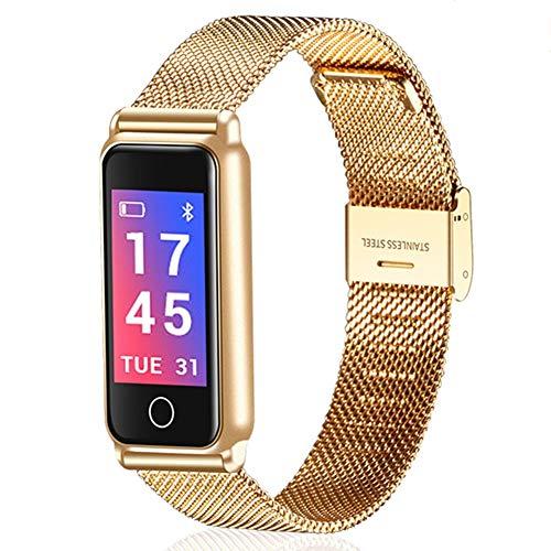 KDSFJIKUYB Smart Horloge Smart Horloge Armband Pols Sport Horloge Fitness Warmte Rate Monitor Waterdichte Bluetooth Stappenteller Polshorloge Smart Horloge Vrouwen Mannen