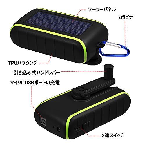 CXYP『手回し充電器』