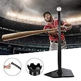 cuffslee tee De Bateo Heavy Duty Baseball Softball tee De Bateo Baseball tee De Bateo para Teeball Entrenamiento Deportivo