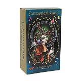 GSHJULAIKJ Tarot fantástico Hermosos 78 Tarjetas Muy ESTILIZADA ÚNICA INEYA Tarjeta DE Cubierta