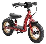 BIKESTAR Vélo Draisienne Enfants pour Garcons et Filles de 2 - 3 Ans ★ Vélo sans pédales évolutive 10 Pouces Classique ★ Rouge