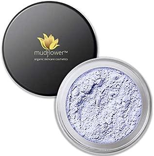 Mudflower Cosmetics Lavender Color Corrector Mineral Primer, Lavender, 1.0 ounce
