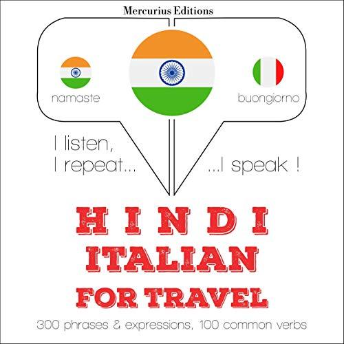 Hindi - Italian. For travel cover art