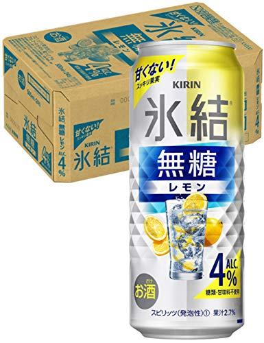 【甘くないレモンサワー】キリン 氷結無糖 レモン Alc.4% [ チューハイ 500ml×24本 ]