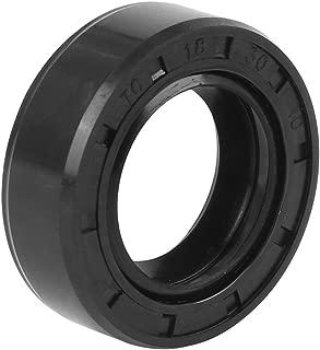 X AUTOHAUX 35mm X 62mm X 10mm Black Rubber Cover Double Lip TC Oil Shaft Seal for Car Auto