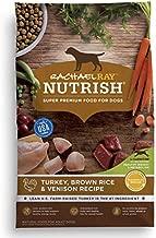 Rachael Ray Nutrish Premium Natural Dry Dog Food, Turkey, Brown Rice & Venison Recipe, 13 Pounds