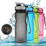 Nasharia Bouteille d'eau de Sport sans BPA - 650ml/1L,...