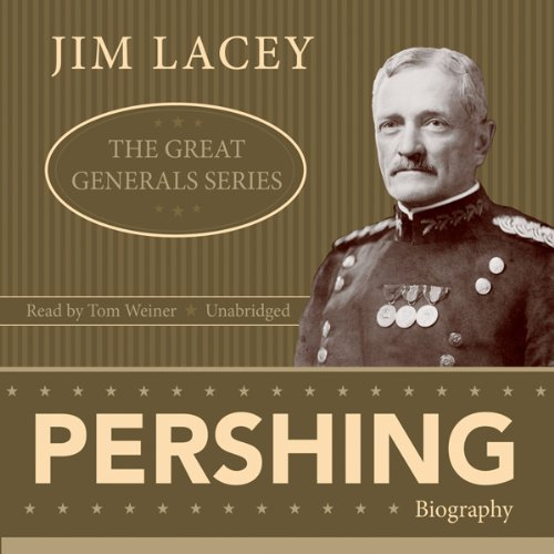 Pershing audiobook cover art