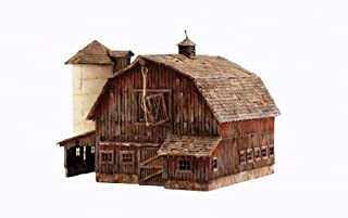 Woodland Scenics 4932 N Built-Up Old Weathered Barn