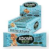 Adonis Low Sugar Bar - Barre aux Amandes et à la Vanille Sans Sucres Ajoutés | 100% Naturelle,...