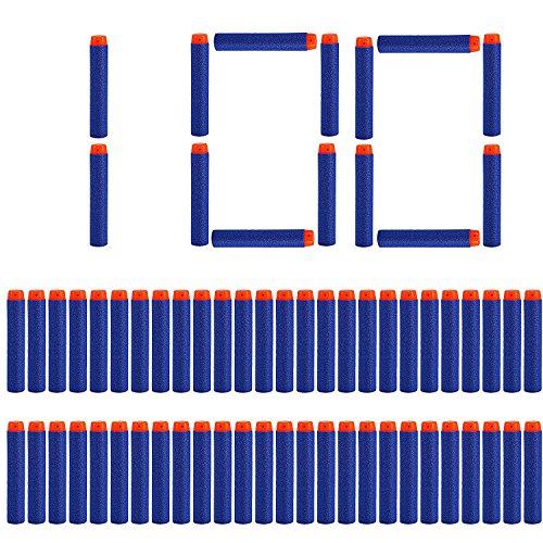 LVHERO 100 Balas Dardos Darts para Nerf Elite Armas de Juguete