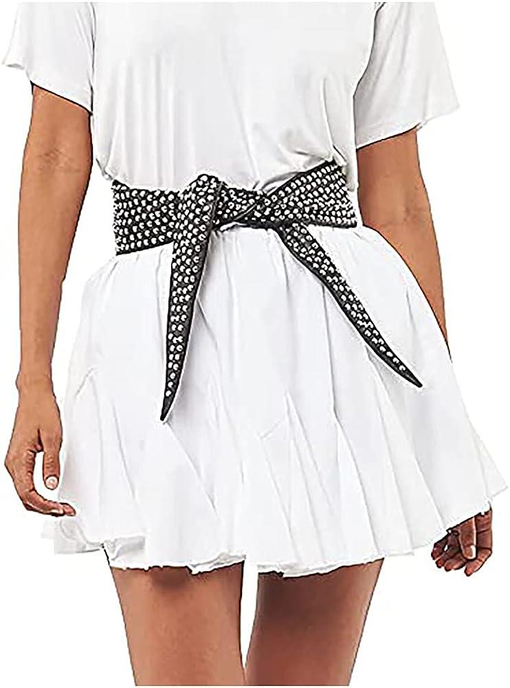 Seta Apparel Women's Element Pleated Mini Skirt