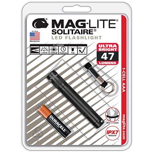 マグライト ソリテールLED SJ3A016 ブラック
