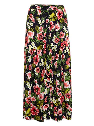 Mavi Damen Röcke Lang Long Skirt Navy Printed XS