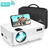 VANKYO Leisure 470 Mini Projector with Synchronize Smart Phone Screen, Full HD 1080P Supported and 250'' Display, 4000 Lux WiFi Portable Projector Compatible with TV Stick, PS4, HDMI, VGA, TF, AV, USB