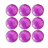 Pratique Pro V1 Balles De Golf Cadeau Ensemble De 10 Balles De Golf en Caoutchouc Synthétique en Vrac Soild Couleur pour Hommes Femmes Débutants Durable (Couleur : C1, Taille : Diameter 42.6mm)