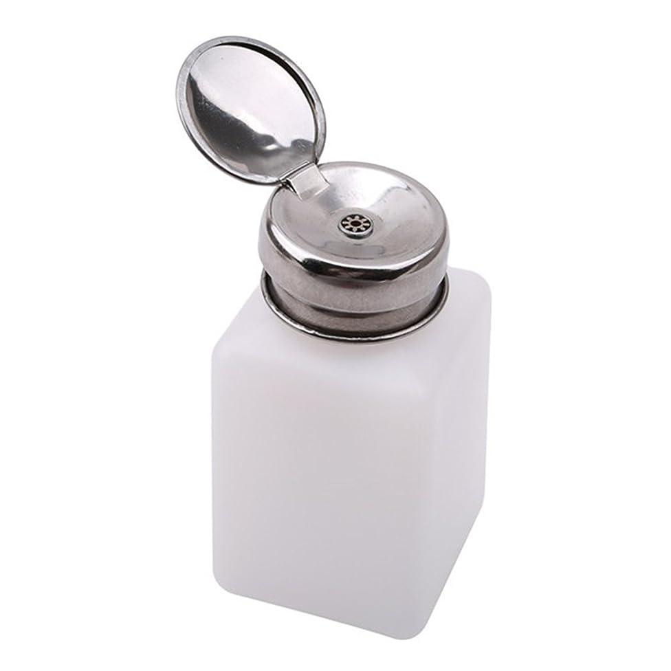 潤滑する不十分な着るPINKING ポンプディスペンサー ネイル リットル空ポンプ ネイルクリーナーボトル 200ml