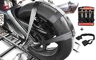 Hlyjoon Motorrad Fu/ßrasten 1 Paar Motorrad Fu/ßrasten Pedale Links Rechts Rutschfeste Fu/ßrasten Gummi Pads Schwarz f/ür 125CC CG 125