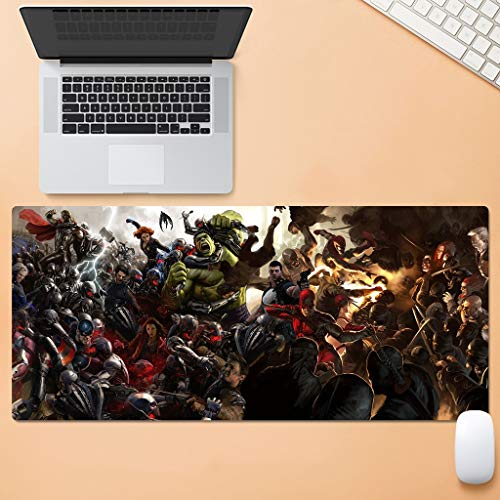 Anti Slip Goma Base Mouse Pad- Marvel Iron Man Series
