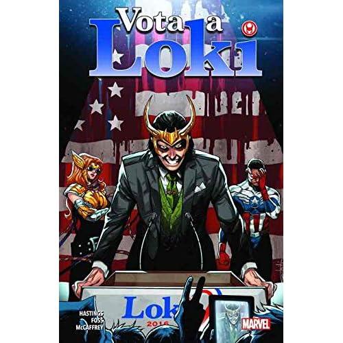 100 % Marvel coediciones vota a loki