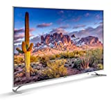 4K TV: 55 Zoll Ultra-HD Fernseher mit HDR10 (3.840 x 2.160 Pixel), Bildschirmdiagonale 139 cm. USB-Recording Triple-Tuner: Für alle Empfangsarten ausgerüstet – Satellit, Kabel oder terrestrisch. Empfängt auch den neuen Standard DVBT2. (DVB-S, DVB-S2,...