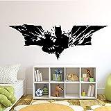 Batman super-héros vinyle mur art autocollant affiche papier peint enfants thème chambre décalque garçon et chambre d'enfants sticker mural -45 cm X 15 cm