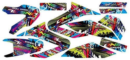 Yamaha WR 125 R/X Full Braaap !!! Premium Neon DEKOR Decals Sticker Aufkleber KIT 09-17
