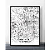 Leinwandbild ,Portland Oder Oregon Usa Vereinigte Staaten