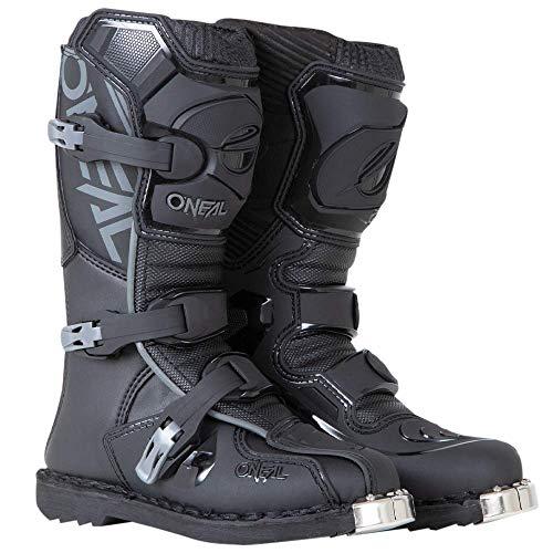 O'NEAL 0332-113 Unisex Kinder Dirtbike Stiefel (Schwarz, 6)