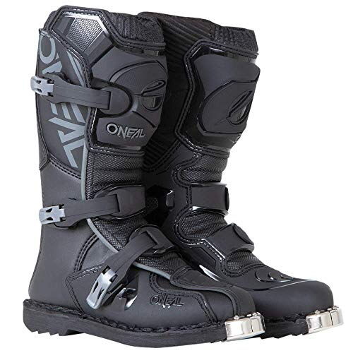 O'Neal 0332-104 Unisex-Child Element Dirtbike Boots (Black 4)