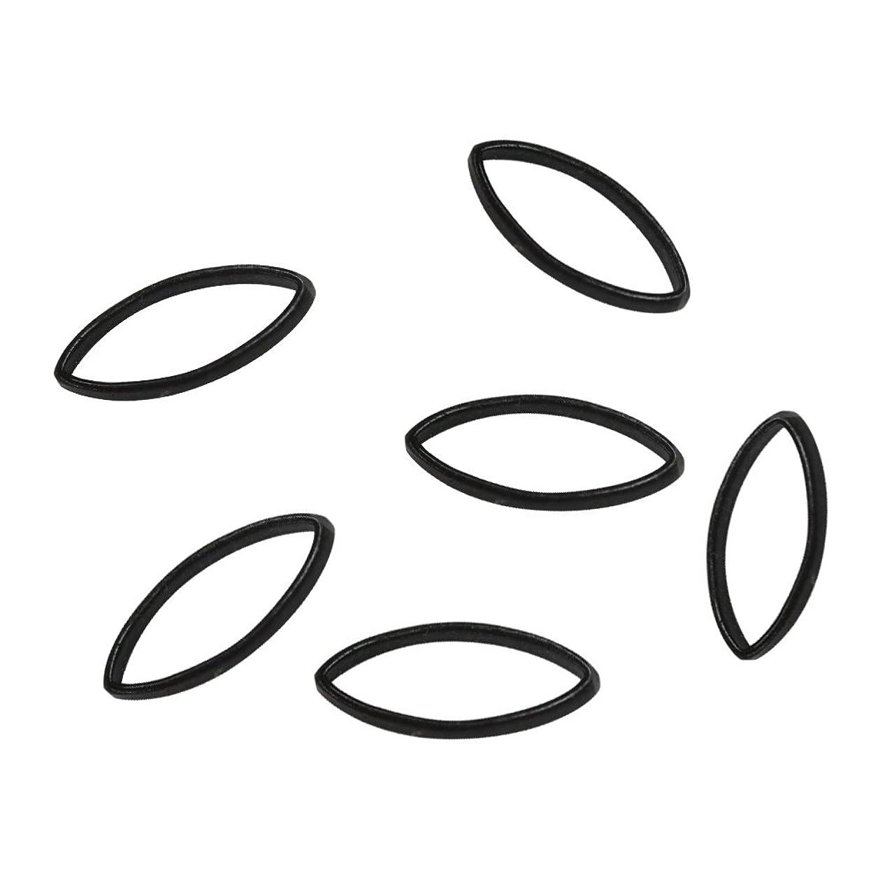 腐食するスイうんBonnail×RieNofuji Loop leaf M ブラック