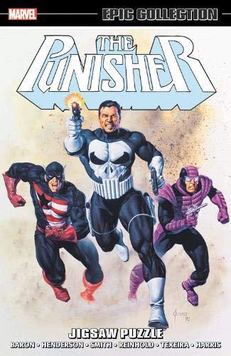Puzzles  Punisher Comic