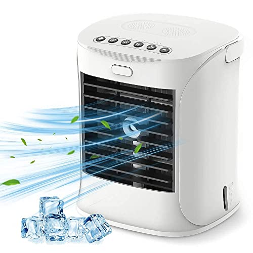 Bcamelys Portable Air Cooler, 3 in 1 Mobile Air Conditioners for Home and Office Use