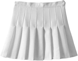 Women Girls Sports High Waist Flared Skater Mini Tennis Skirt School Uniforms Cosplay Pleated Short Skorts