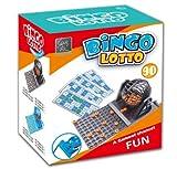 Juego DE Bingo LOTTO Manual DE 90 NUMEROS Juego DE Mesa Familiar con 12 CARTONES
