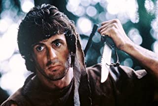 Sylvester Stallone in First Blood 60x91 cm - Cuchillo Rambo