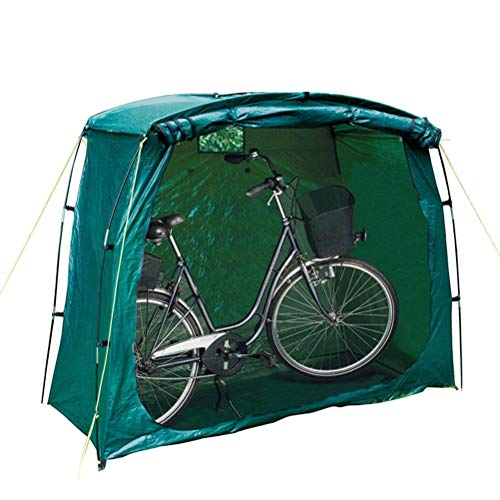 Dbtxwd Carpa para Bicicletas Carpa para Almacenamiento de Bicicletas de Alta Capacidad para Acampar al Aire Libre (L200xW80xH150cm)