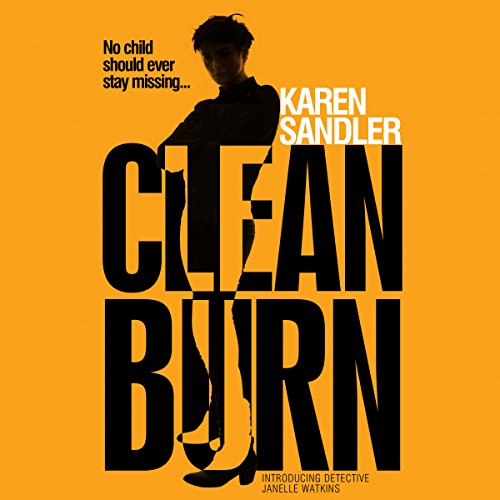 Clean Burn audiobook cover art