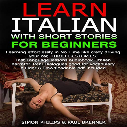 Learn Italian with Short Stories for Beginners (Italian Edition) cover art