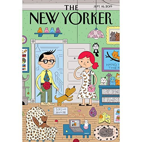 The New Yorker, September 16th 2019 (Dexter Filkins, Michael Schulman, Nathan Heller) cover art