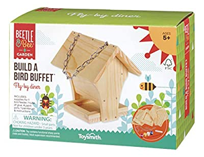 Toysmith Beetle & Bee Build A Bird Buffet