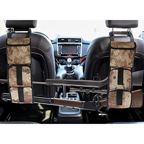 LOVIT Car Concealed Seat Back Gun Rack,Hunting Gear Seat Back Gun Sling Holder Universal Shooting Accessories, Fit for Vehicles