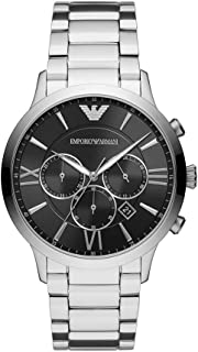 Men's Giovanni Watch, 43mm, Silver/Silver, One Size